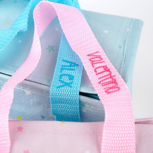 Bolsa isotermica comprar personalizada nombre bordado