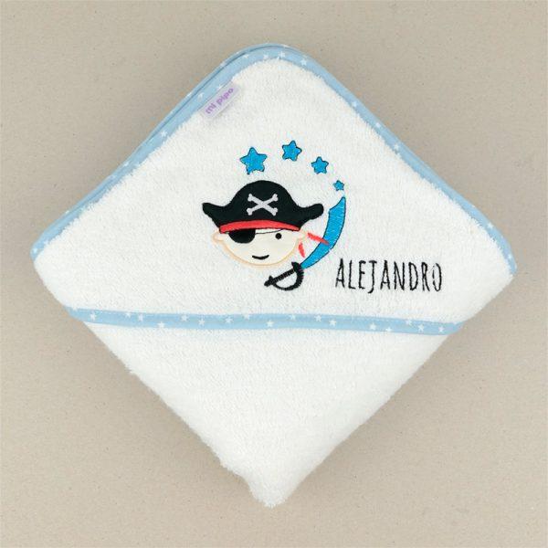 Comprar capa baño bordad personalizada