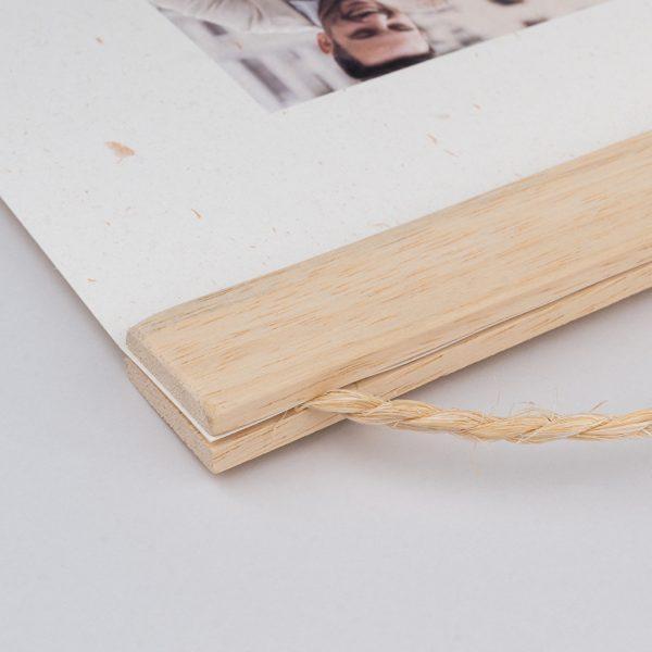 COMPRAR CARTON poster cen tela o papel en madera