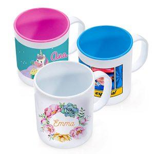 taza-personalizada-plastico-irrompible comprar con foto o diseño
